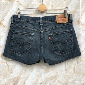 LEVIS 511  Cutoff Jeans Shorts size 33
